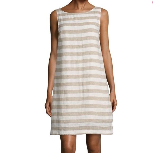 780b3d56ae beach lunch lounge Dresses   Skirts - •Beach Lunch Lounge• Striped Linen  Dress